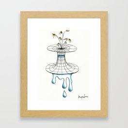 worm vase Framed Art Print