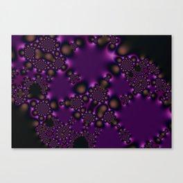 Purple Spore Canvas Print