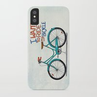 bicycle iPhone & iPod Cases featuring Bicycle by Prince Arora