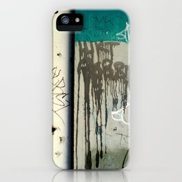 Once upon a wall iPhone Case