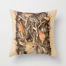 Tears of the Keeper Throw Pillow