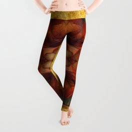 Chimera Gold & Blood Leggings