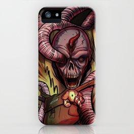Worm Zombie iPhone Case