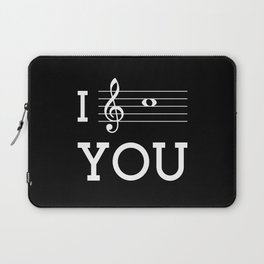 I see you (dark colors) Laptop Sleeve