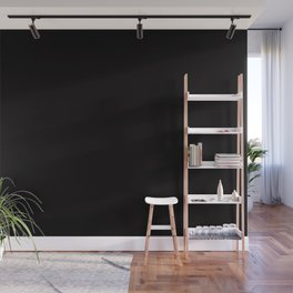 I Love Mickey ~ Jet Black Coordinating Solid Wall Mural
