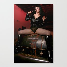 A little bit Bettie Two  Canvas Print