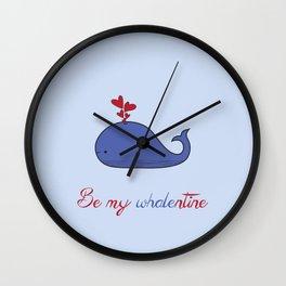 Whalentine Wall Clock