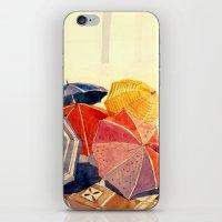 takmaj iPhone & iPod Skins featuring umbrellas by takmaj