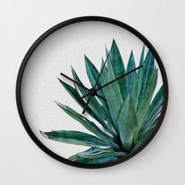 Agave Cactus Wall Clock