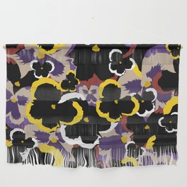 Pansy Love Wall Hanging