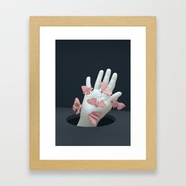 Conscience parlour Framed Art Print