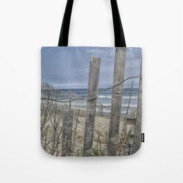 Beach Front View  Tote Bag