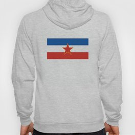yugoslavia country flag Hoody