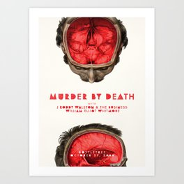 Murder By Death at the Bottletree Art Print