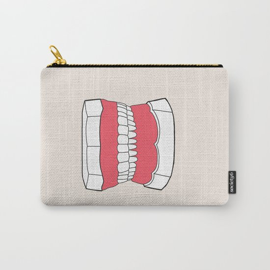 Uzual Teeth Carry-All Pouch