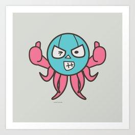 Two thumbs up Art Print