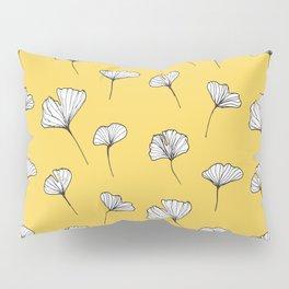 Ginkgo Biloba Leaves Pattern #society6 #decor #buyart Pillow Sham