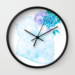 ZONA - white background Wall Clock