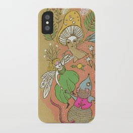 Dancing Woodland Fairy-tale Creatures iPhone Case