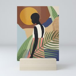 Tropical Girl 2 Mini Art Print