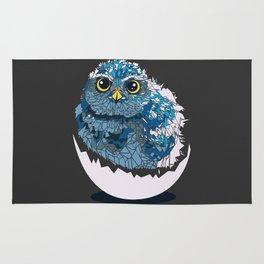 Baby owl Rug