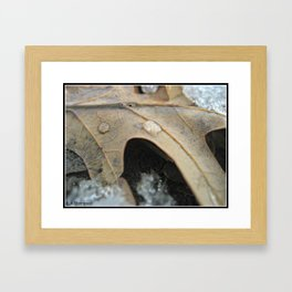Oncoming Winter Framed Art Print