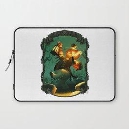 Jack-O-Lantern Laptop Sleeve