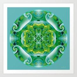 Mandalas of Healing and Awakening 4 Art Print