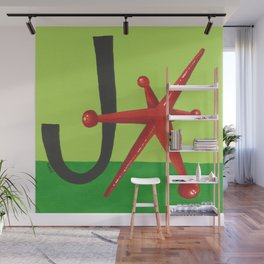J is for Jack Wall Mural