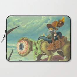 """The Search, 13""""x24"""" Laptop Sleeve"""
