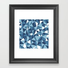 Ab Blues Framed Art Print