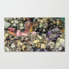 Gems collection 3 Canvas Print