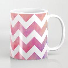 Watercolor Chevron. Mug