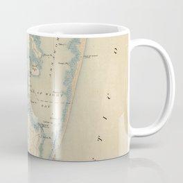 Vintage Map of Ocean City Maryland (1900) Coffee Mug