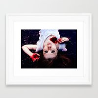 pain Framed Art Prints featuring Pain by Lídia Vives