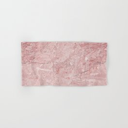 Blush Pink Marble Hand & Bath Towel