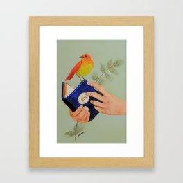 livre de joie Framed Art Print