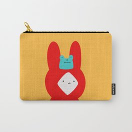 Bunny and Frog Carry-All Pouch