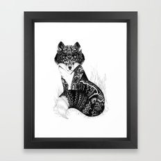 Wildlife Fox Framed Art Print