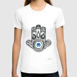 Teardrop Hamsa T-shirt