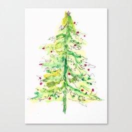 Fa La La La Tree Canvas Print