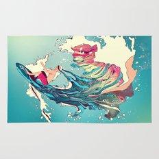 Blind Surfer Rug