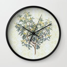 A bird in the bush Wall Clock