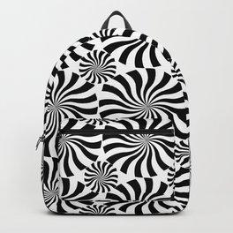 Black Twirl Backpack