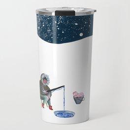Shellfisherwoman Travel Mug