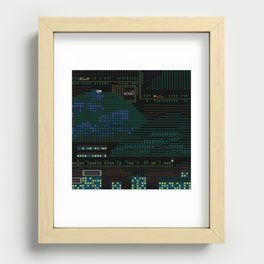 A Coded Message #4 Recessed Framed Print