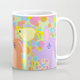 Bunnies and Friends Coffee Mug