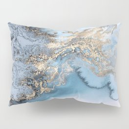 Gold immersion Pillow Sham