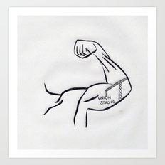 union strong Art Print