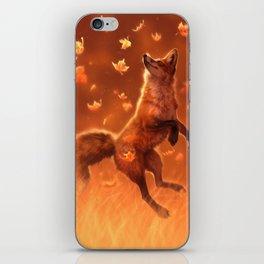 Jump Into Fall iPhone Skin